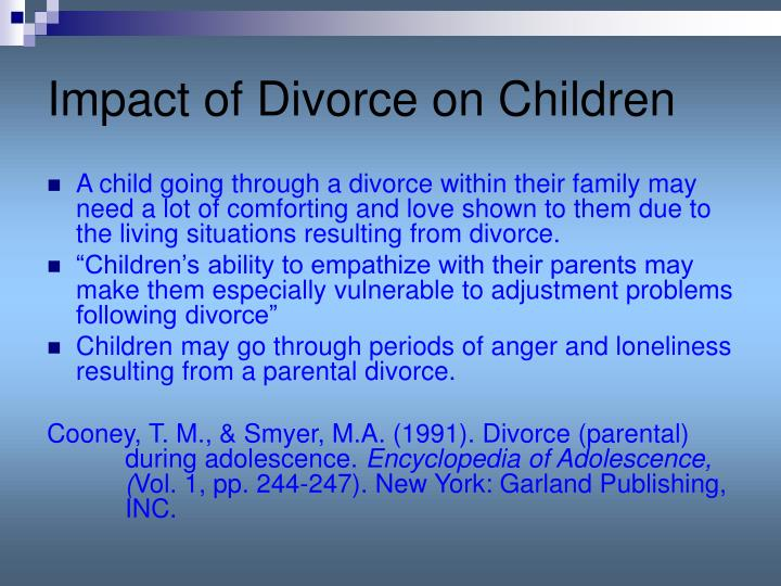 personal experience of the effects of divorce on the author as a child Psychologist sigmund freud famously proposed that our personal  but is there  really any evidence that difficult childhood experiences  we know that family- related early experiences have profound and long-lasting effects on children   depression in adulthood than those who didn't experience divorce.