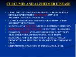 curcumin and alzheimer disease
