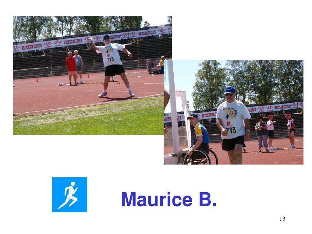 Maurice B.