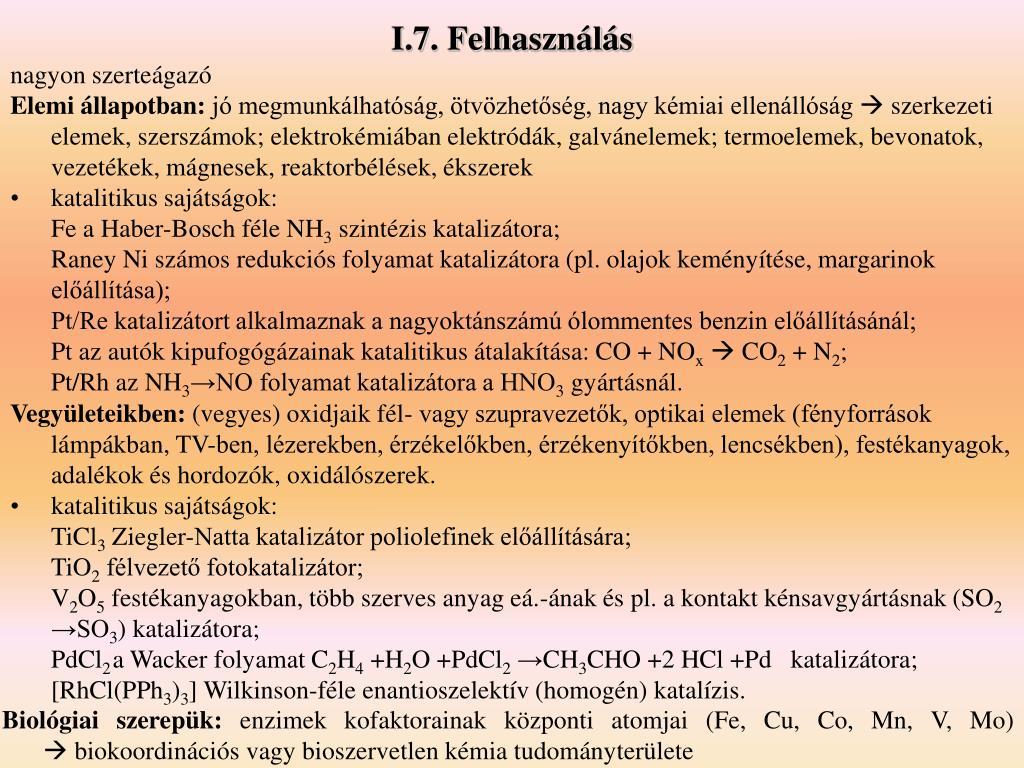I.7. Felhasználás