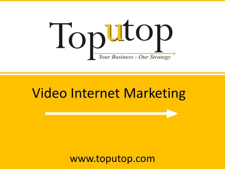 Video Internet Marketing
