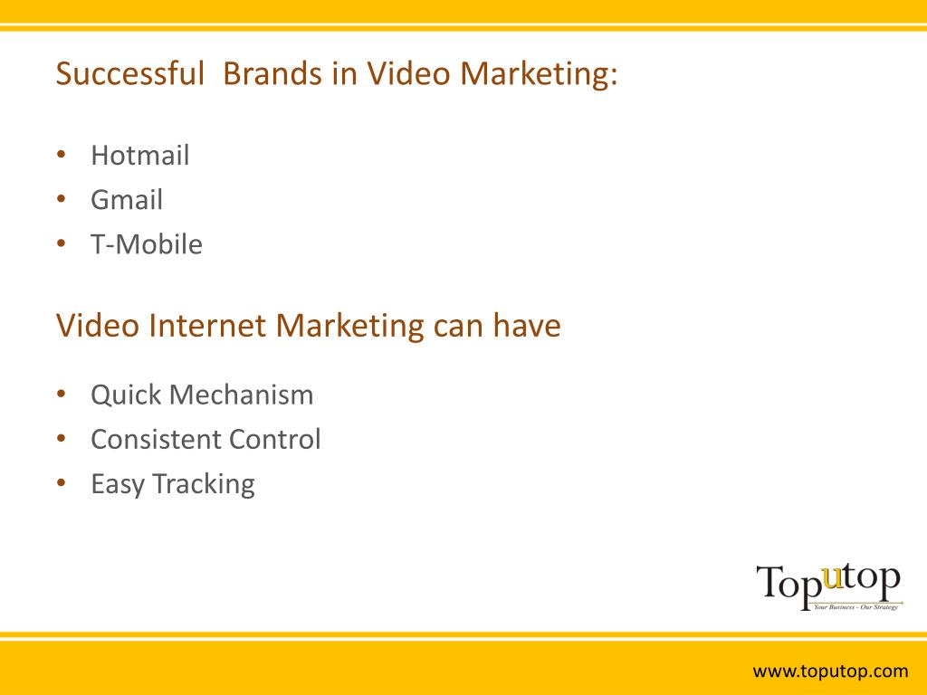 Successful  Brands in Video Marketing: