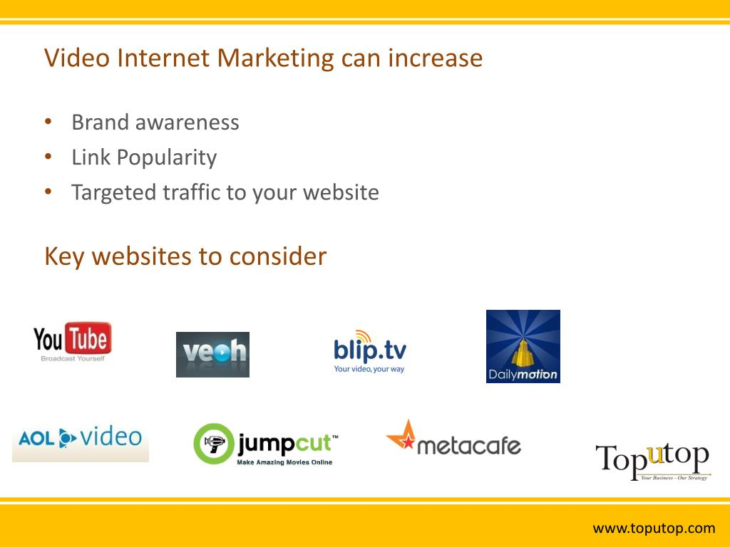 Video Internet Marketing can increase