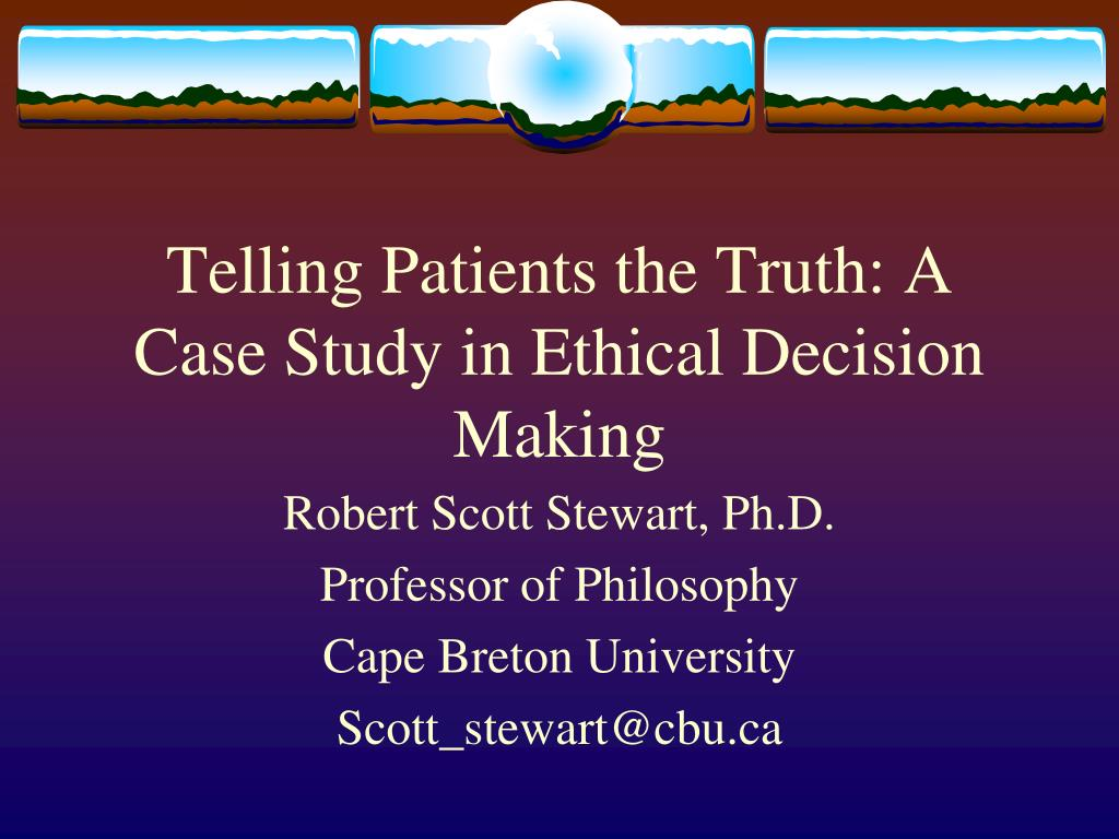 case study on decision making 30 navy medicine a case study for ethical leadership decision making the corpsman shaun baker, phd elizabeth holmes, phd, abpp rose ciccarelli, ma forum y ou are capt jones in com.