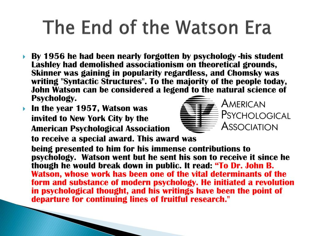 behaviorism apa format essay
