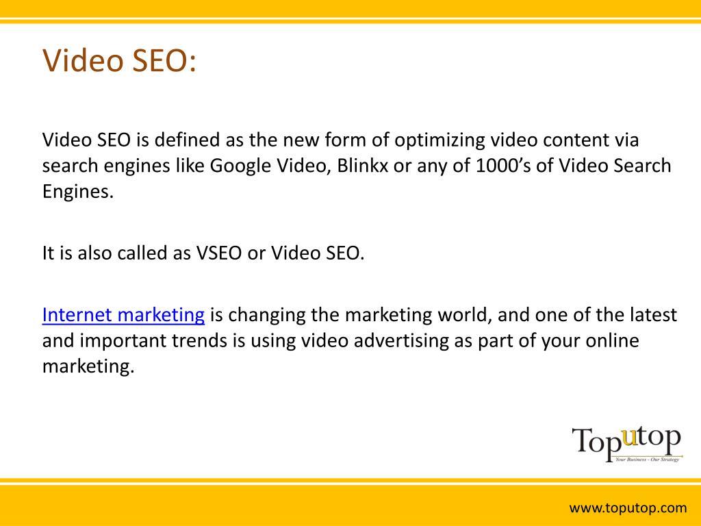 Video SEO: