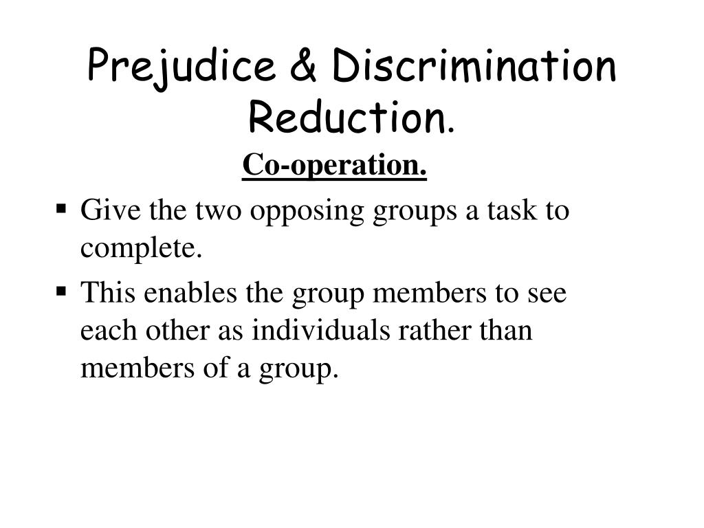 "prejudice discrimination the origins essay The evolution of prejudice our basic tendency to see the world in terms of ""us"" and ""them"" has ancient origins laws against discrimination."