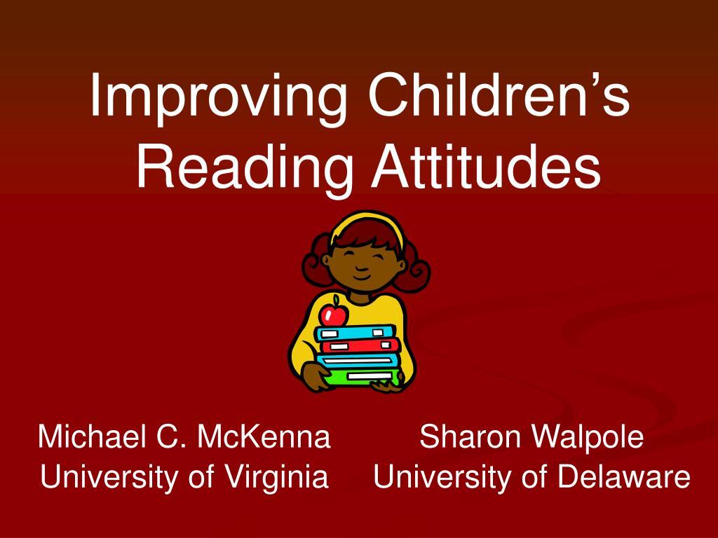 Improving Children's