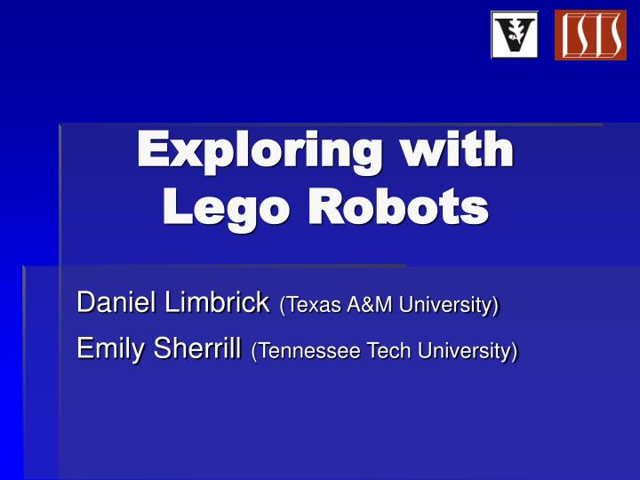 exploring with lego robots n.