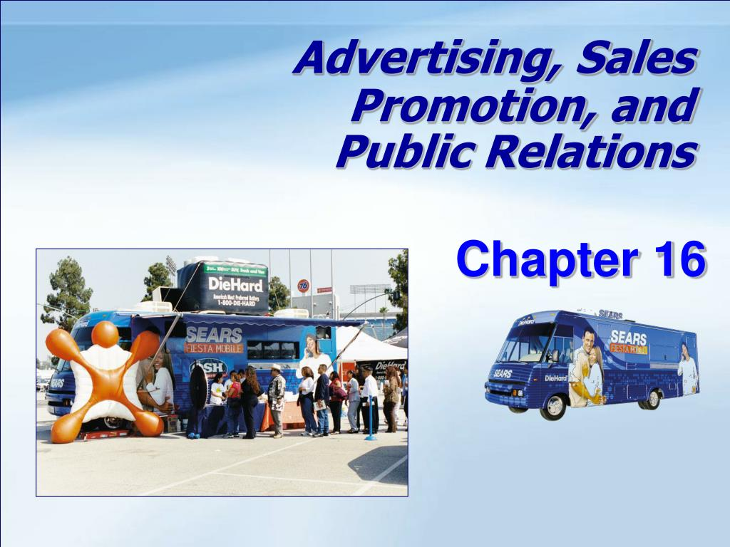 advertising sales promotion and public relations l.