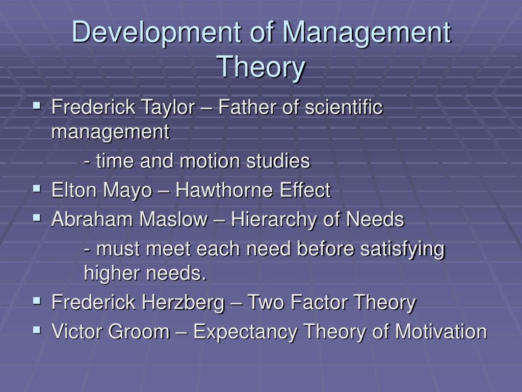 Where it All Began: The Origin of Management Theory | Great Managers