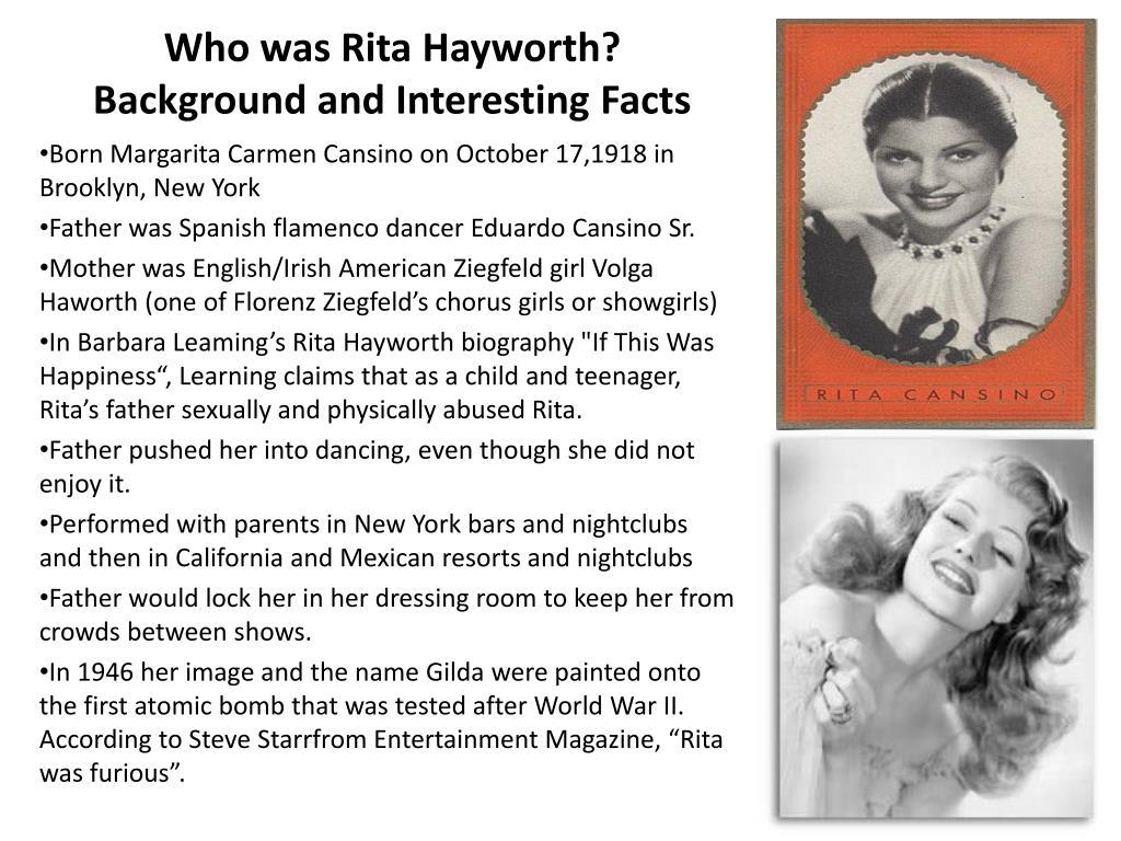 Who was Rita Hayworth?