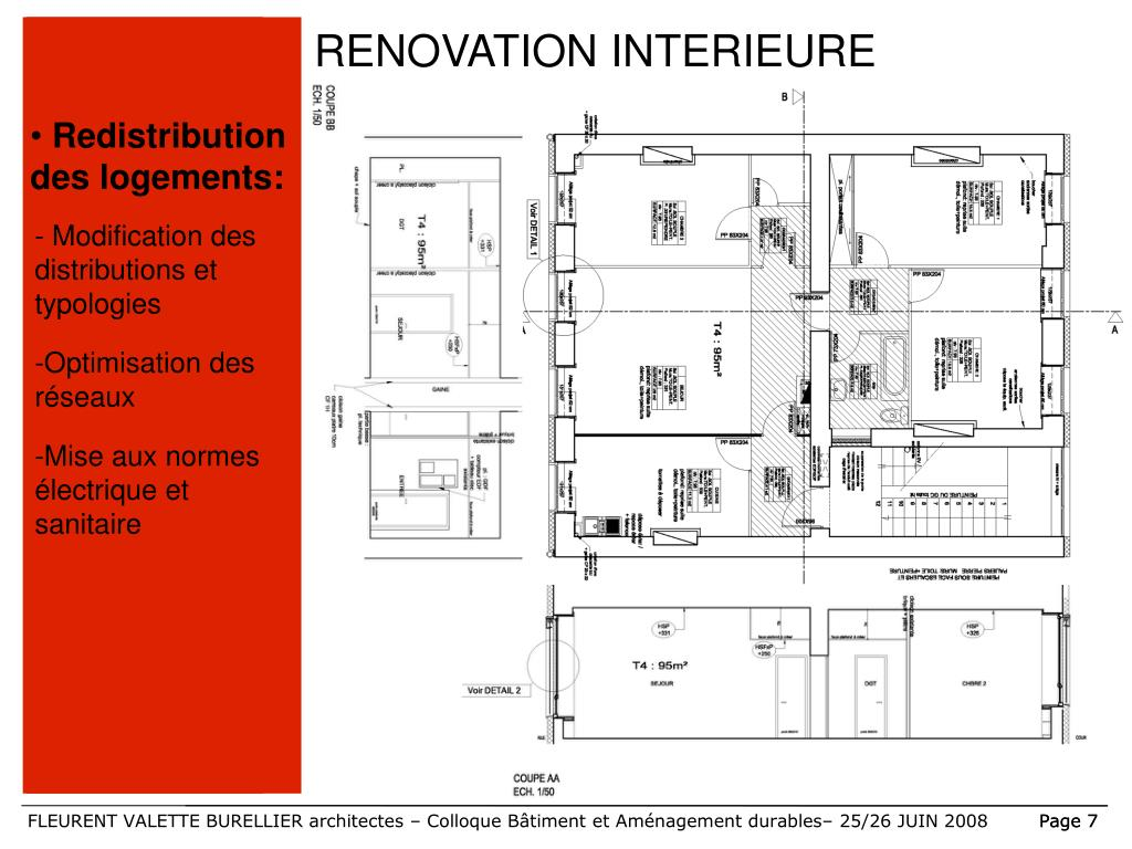 RENOVATION INTERIEURE
