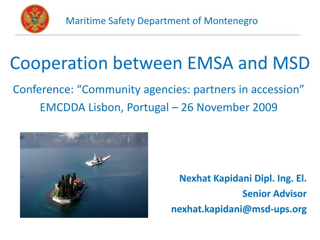 cooperation between emsa and msd l.