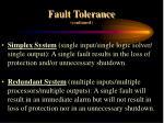 fault tolerance continued13