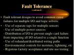 fault tolerance continued14