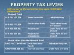 property tax levies11