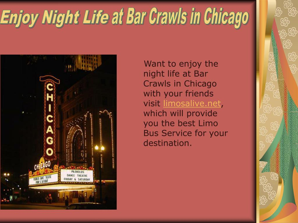 at Bar Crawls in Chicago