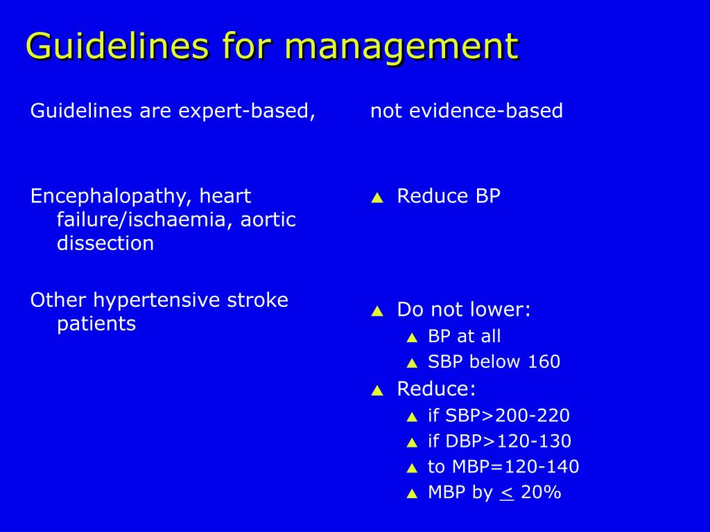 Guidelines are expert-based,