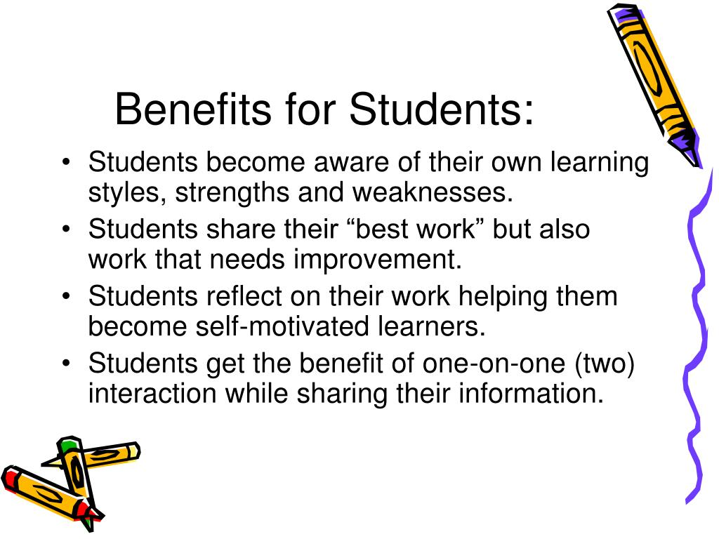 Benefits for Students: