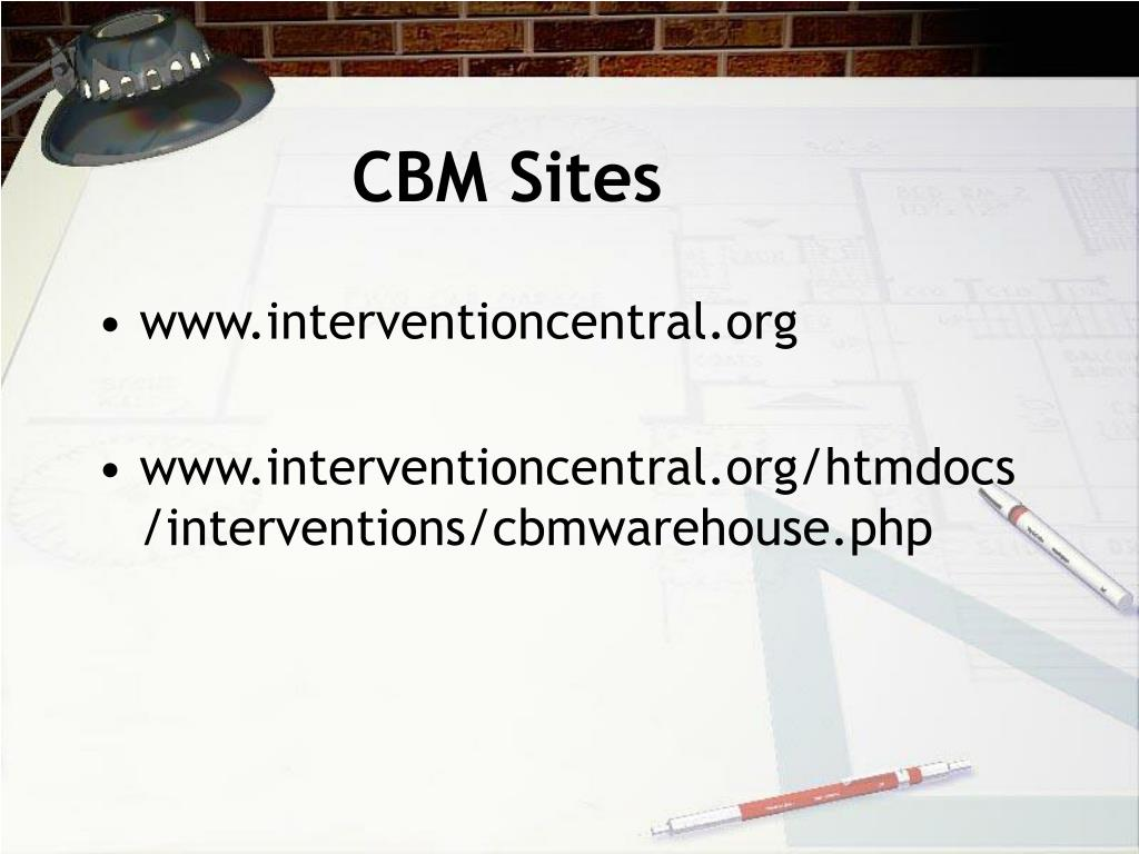 CBM Sites