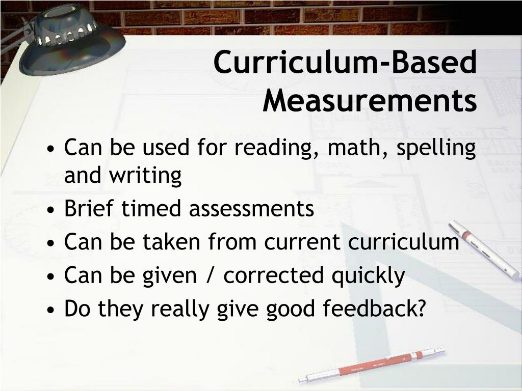 Curriculum-Based Measurements