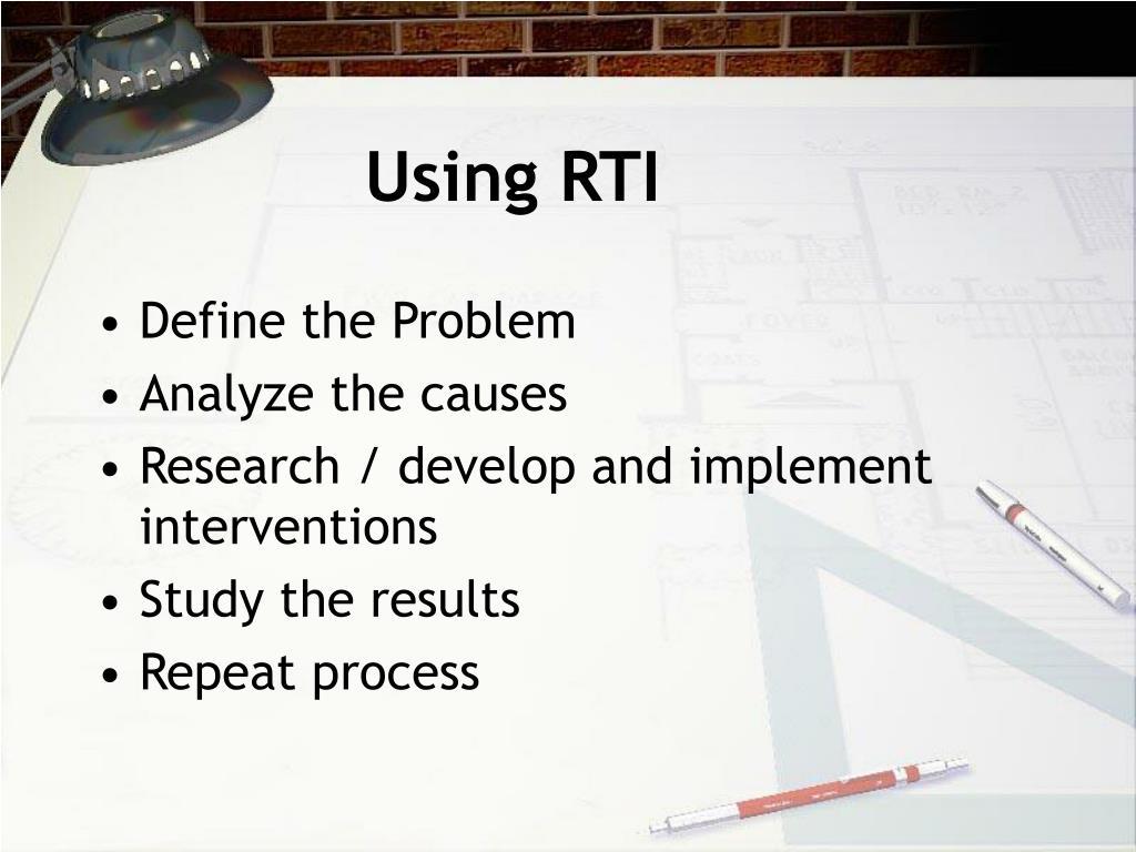 Using RTI