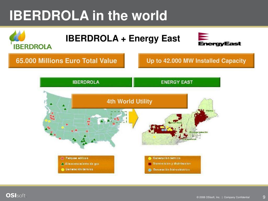 IBERDROLA in the world