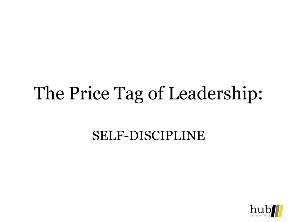 The Price Tag of Leadership: