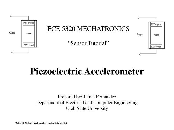 piezoelectric accelerometer n.