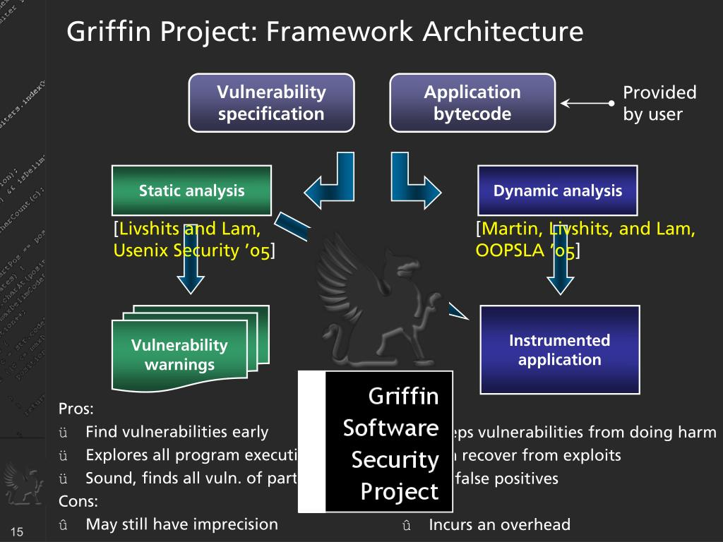 Griffin Project: Framework Architecture
