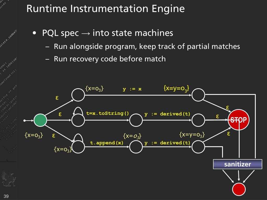 Runtime Instrumentation Engine