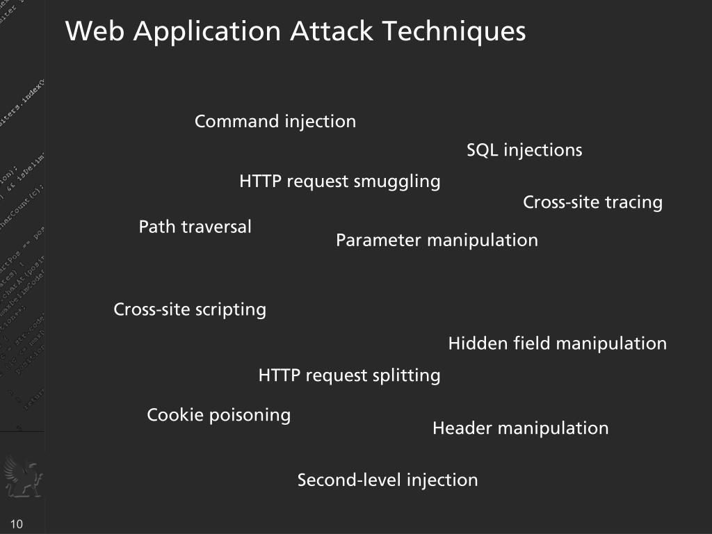 Web Application Attack Techniques