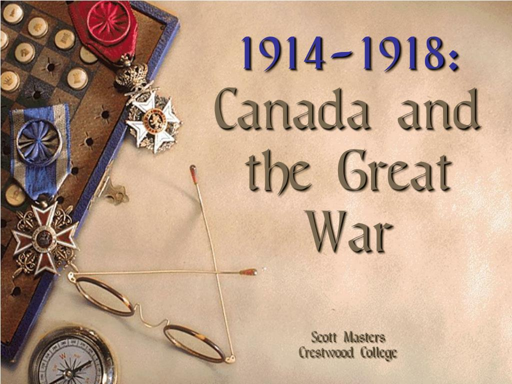 1914-1918: