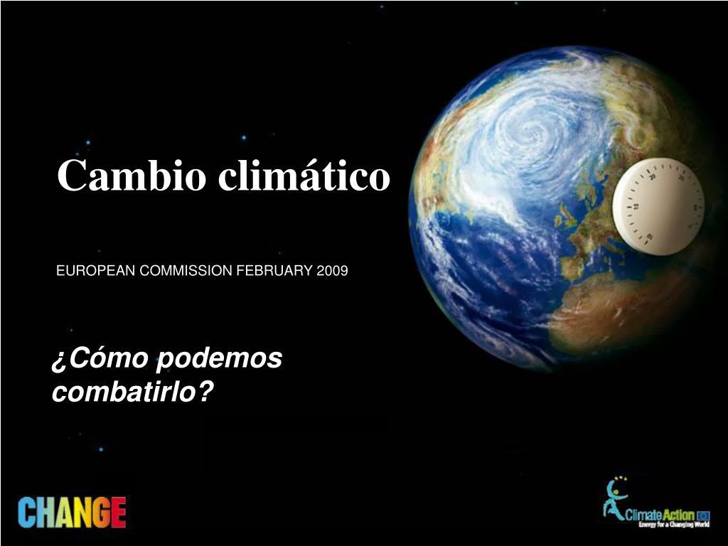 cambio clim tico l.