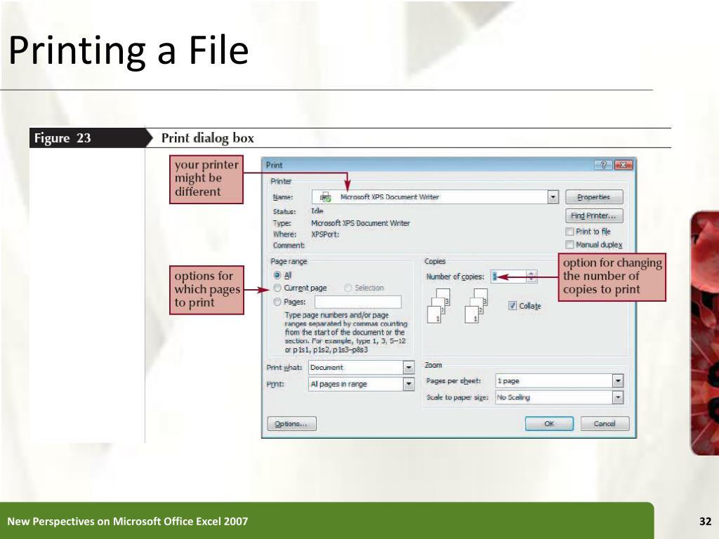 Printing a File