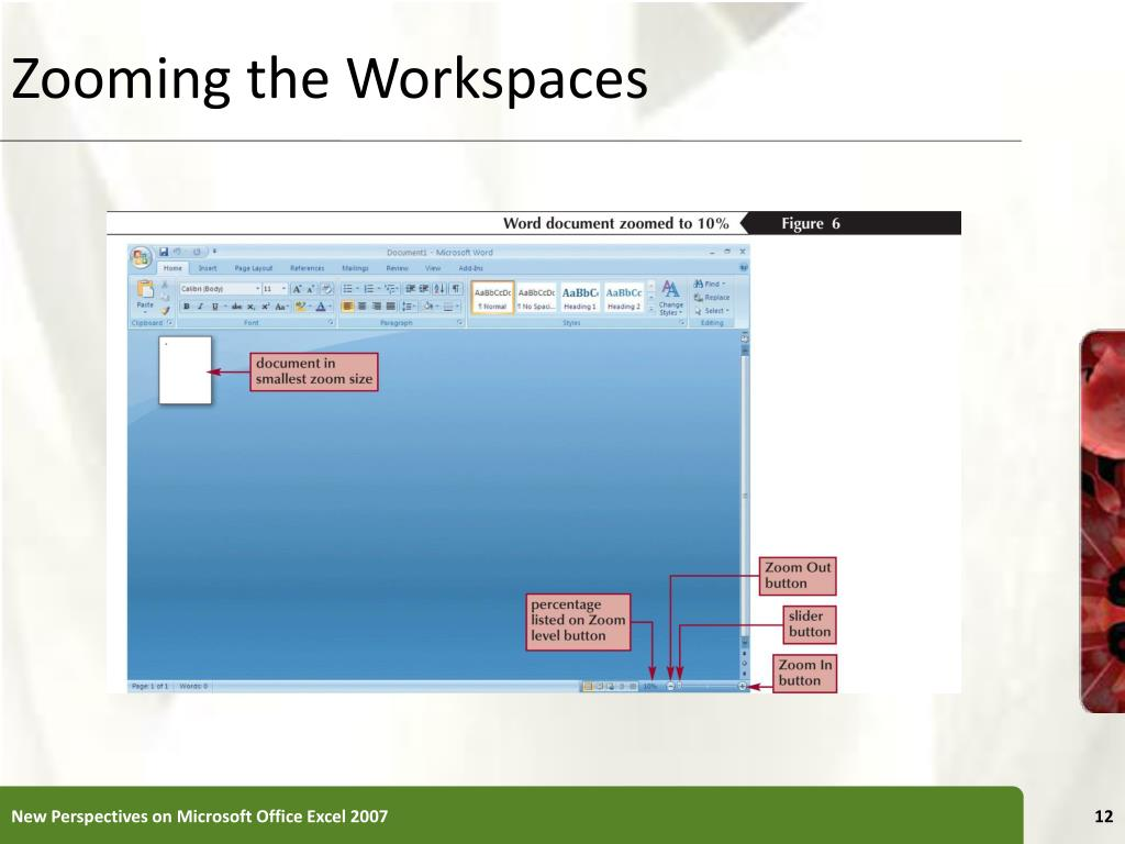 Zooming the Workspaces