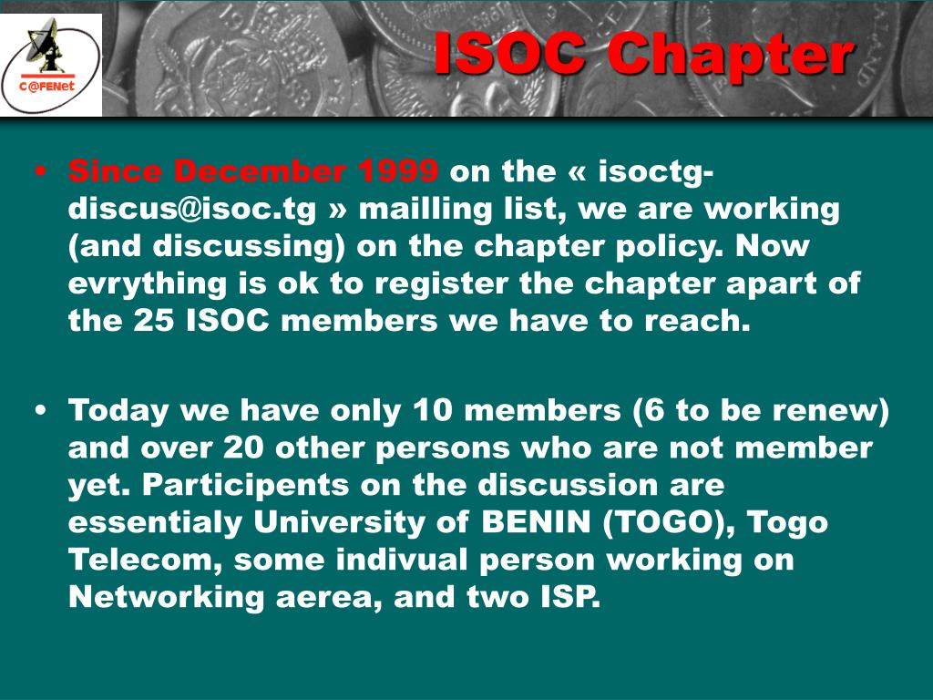 ISOC Chapter