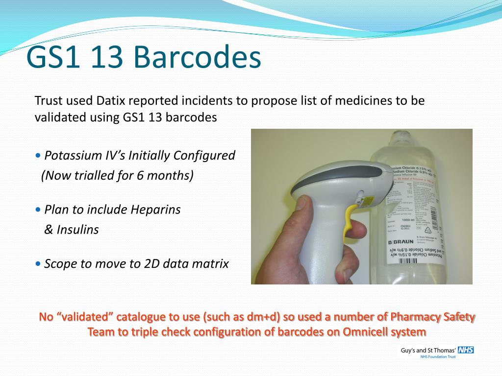 GS1 13 Barcodes