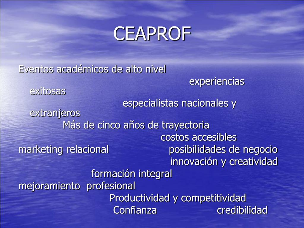 CEAPROF