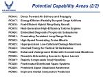 potential capability areas 2 2