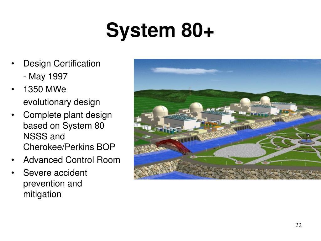 System 80+