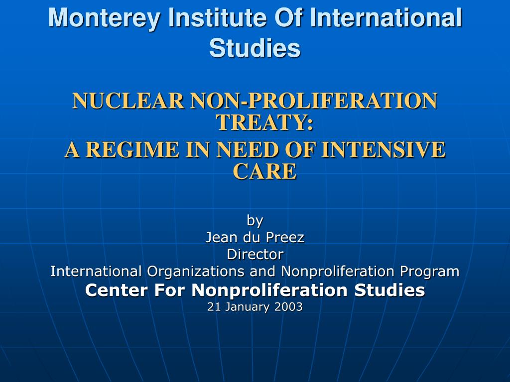 monterey institute of international studies l.