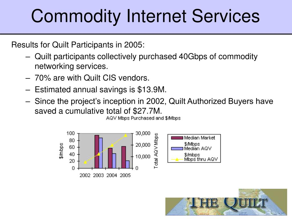Commodity Internet Services