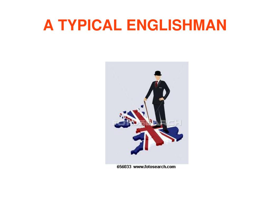 a typical englishman