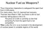 nuclear fuel as weapons26