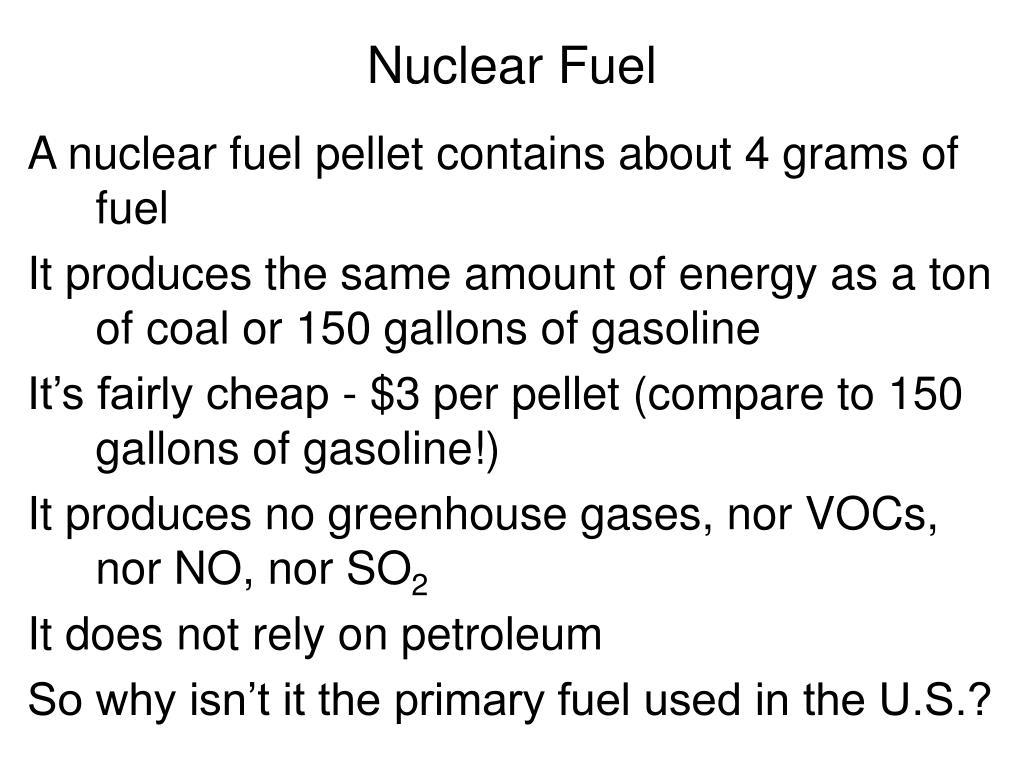 nuclear fuel l.