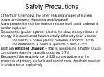 safety precautions22