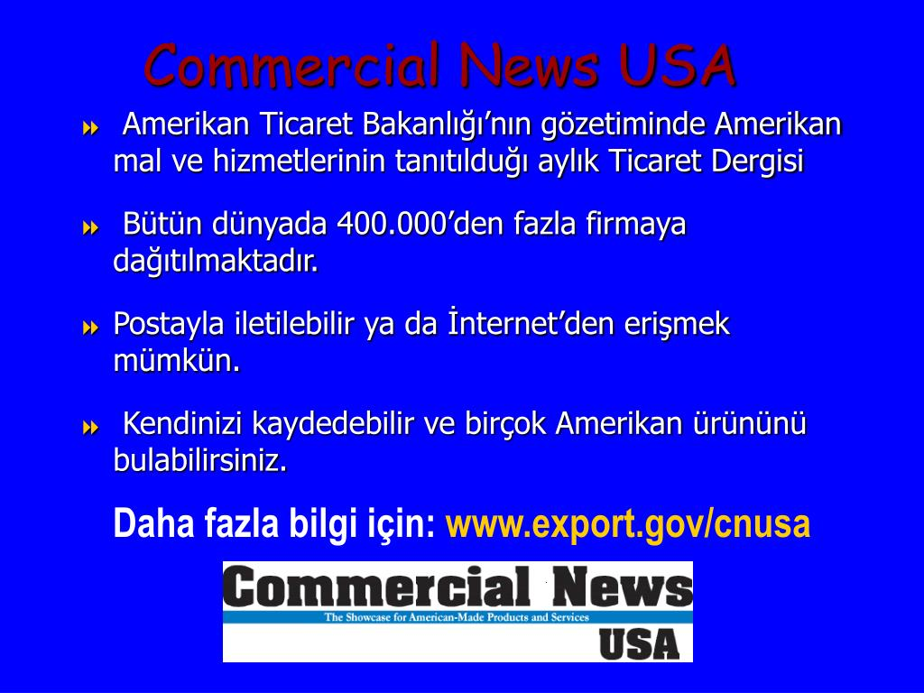 Commercial News USA