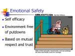 emotional safety